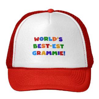 Bright Colors World's Best-est Grammie Gifts Cap