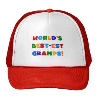 Bright Colors World's Best Gramps Gifts Hat