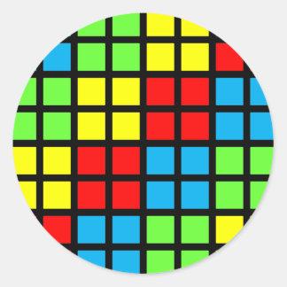 Bright Coloured Optical Illusion Stickers