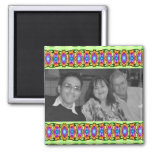 bright colourful ribbons photoframe