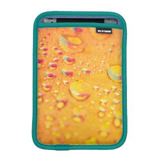 bright colourful water droplet design iPad mini sleeve