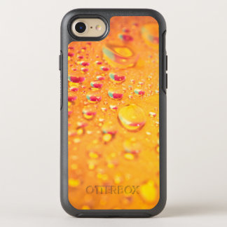 bright colourful water droplet design OtterBox symmetry iPhone 8/7 case