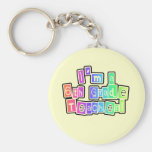 Bright Colours 6th Grade Teacher Tshirts and Gifts Keychains