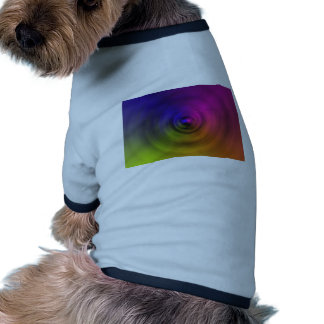 Bright colours of spiral blur as an abstract pet t shirt