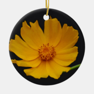 Bright Coreopsis flower Christmas Ornament