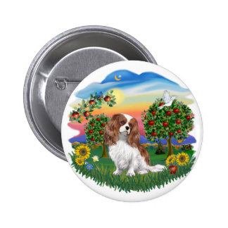 Bright Country - Cavalier - BL2 6 Cm Round Badge