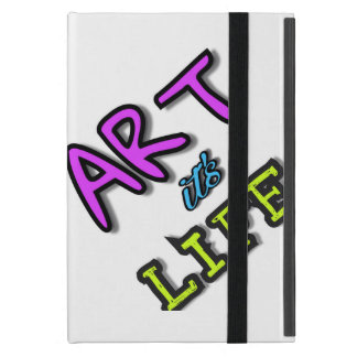 Bright cover for iPad Art it's life