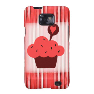 Bright Cupcake Samsung Galaxy S2 Covers
