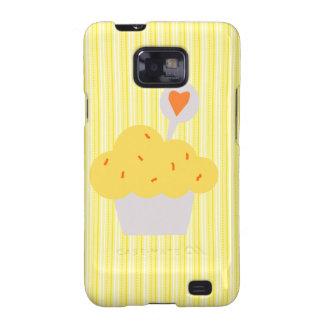 Bright Cupcake Galaxy S2 Case