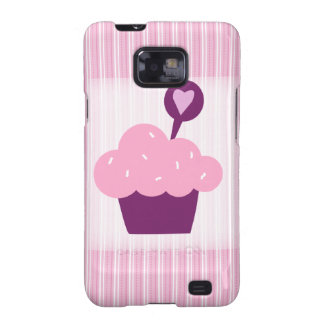 Bright Cupcake Galaxy SII Cases