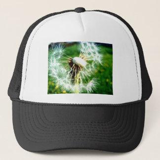 Bright Dandelion Clock Trucker Hat