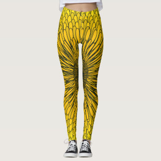 Bright Dandelion for the Brave Leggings
