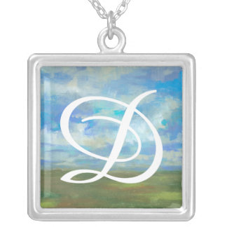 Bright Day II Silver Plated Necklace