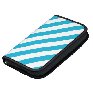 Bright Diagonal Stripes Folios for iPod Planners