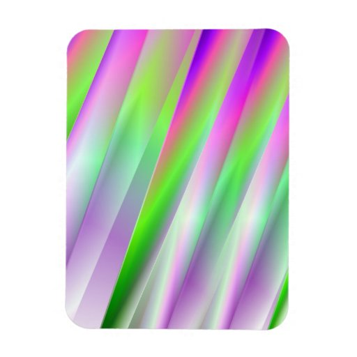 Bright Diagonals Flexible Magnet