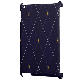 Bright Diamond Navy Argyle Cover For The iPad