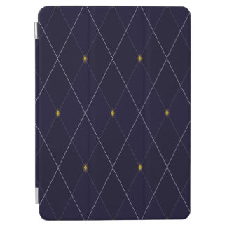 Bright Diamond Navy Argyle iPad Air Cover