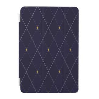 Bright Diamond Navy Argyle iPad Mini Cover