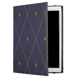 "Bright Diamond Navy Argyle iPad Pro 12.9"" Case"