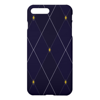 Bright Diamond Navy Argyle iPhone 8 Plus/7 Plus Case