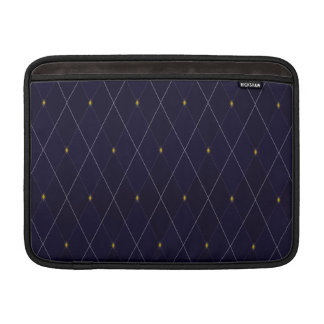 Bright Diamond Navy Argyle MacBook Air Sleeves
