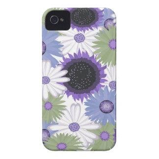 Bright Digital Flowers iPhone 4/4S Case Mate
