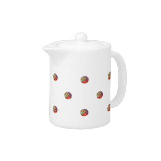Bright Dots Teapot