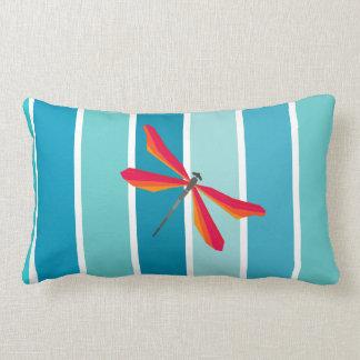 Bright dragonfly cushions