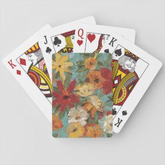 Bright Expressive Garden Poker Deck