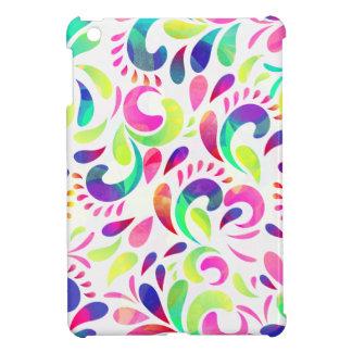 Bright extravaganza festive carnival color burst iPad mini cases