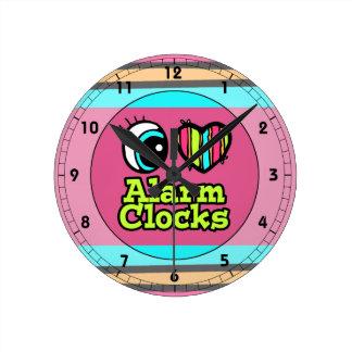 Bright Eye Heart I Love Alarm Clocks
