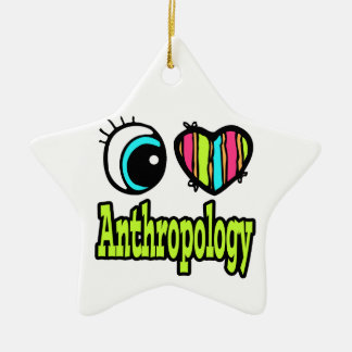 Bright Eye Heart I Love Anthropology Christmas Ornament
