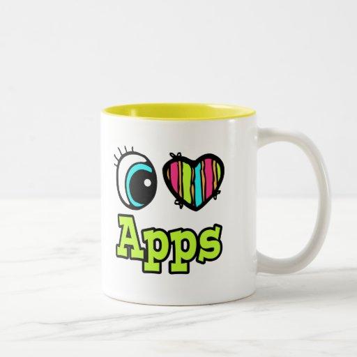 Bright Eye Heart I Love Apps