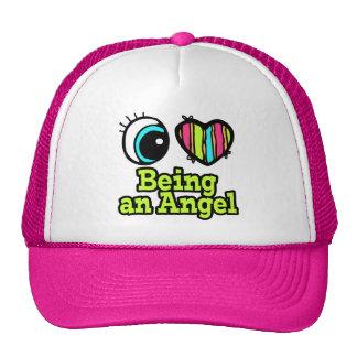 Bright Eye Heart I Love Being an Angel Mesh Hats