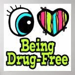 Bright Eye Heart I Love Being Drug-Free
