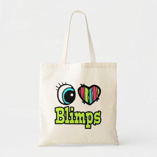 Bright Eye Heart I Love Blimps Bag