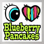 Bright Eye Heart I Love Blueberry Pancakes