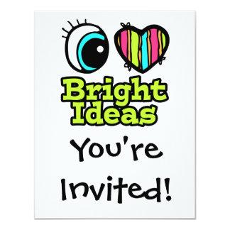 Bright Eye Heart I Love Bright Ideas Custom Invitations