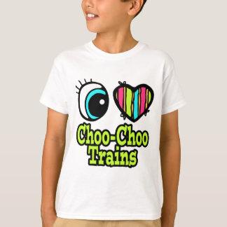 Bright Eye Heart I Love Choo Choo Trains T-Shirt