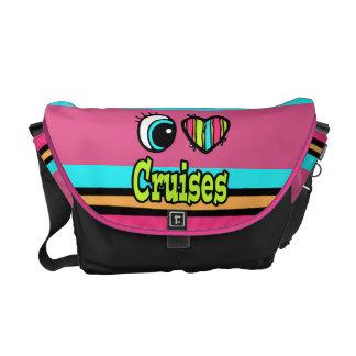 Bright Eye Heart I Love Cruises Commuter Bag