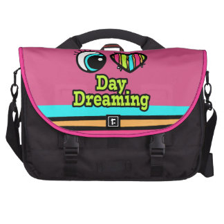 Bright Eye Heart I Love Day Dreaming Laptop Bags