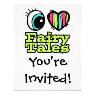 Bright Eye Heart I Love Fairy Tales Announcements