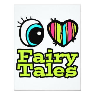 Bright Eye Heart I Love Fairy Tales Invitations