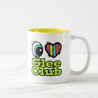Bright Eye Heart I Love Glee Club Mug