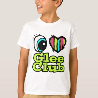 Bright Eye Heart I Love Glee Club T-Shirt