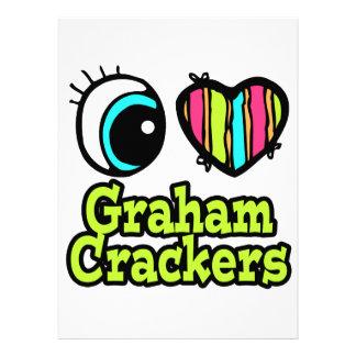 Bright Eye Heart I Love Graham Crackers Announcement
