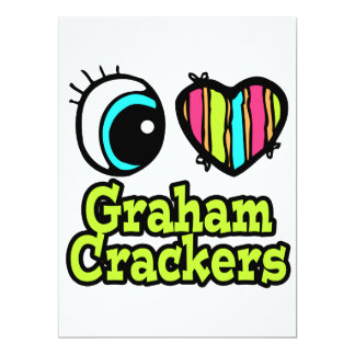 Bright Eye Heart I Love Graham Crackers Announcement