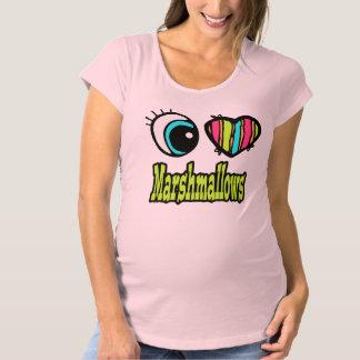 Bright Eye Heart I Love Marshmallows T Shirts
