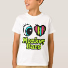 Bright Eye Heart I Love Monkey Bars T-Shirt
