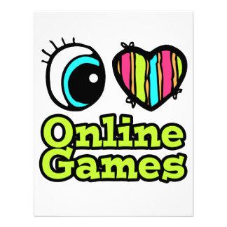 Bright Eye Heart I Love Online Games Announcement